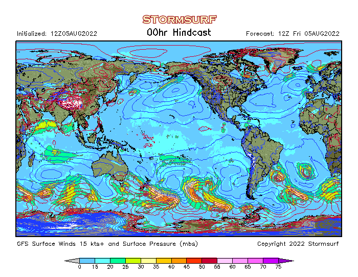 GFS & ETA (NAM) Weather Models