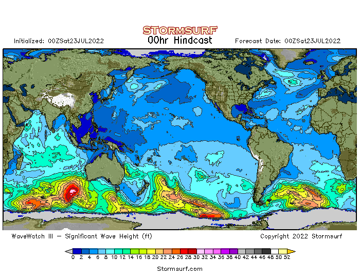 Global Wave Heights