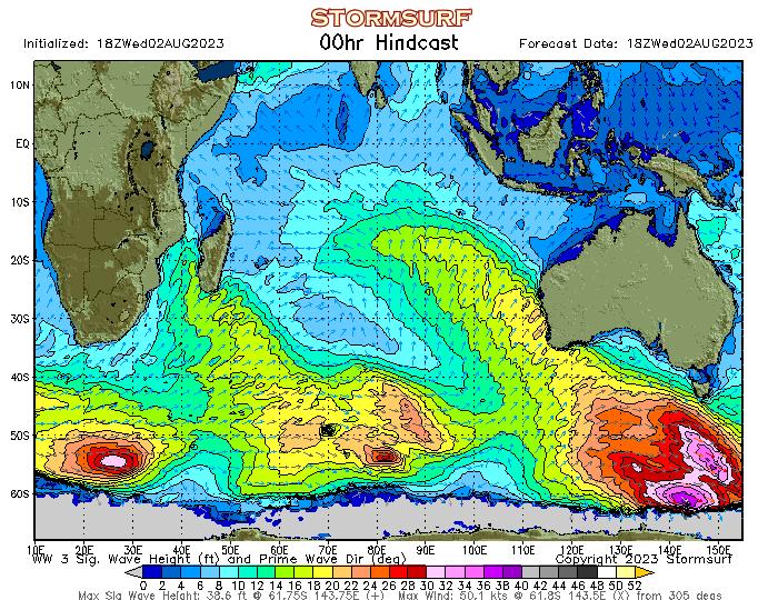 Indian Ocean Surf Report (STORMSURF)