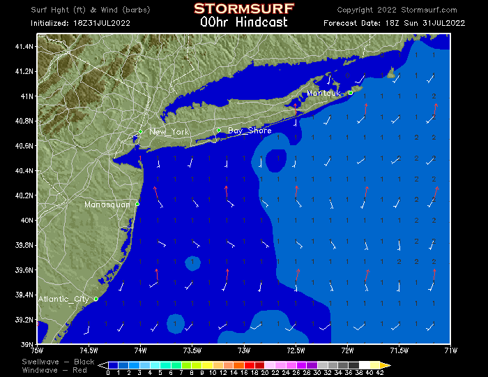 New Jersey & New York Surf Report (STORMSURF)