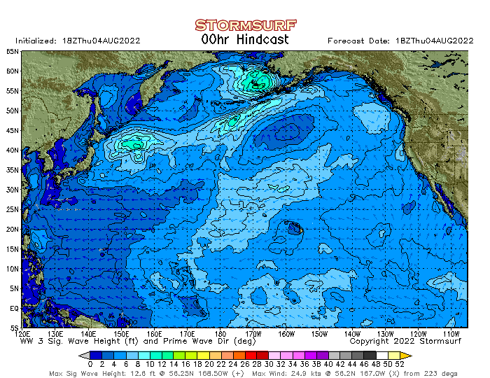 N. Pacific Significant Sea Height Animation