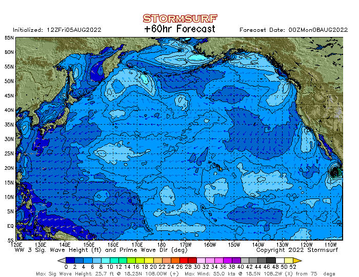 Wave Model - North Pacific Sea Height (STORMSURF)